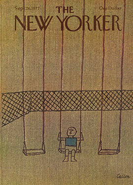 New Yorker Cover September 26, 1977