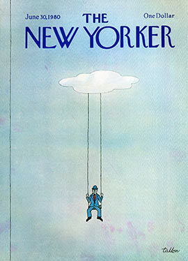 New Yorker Cover 1980