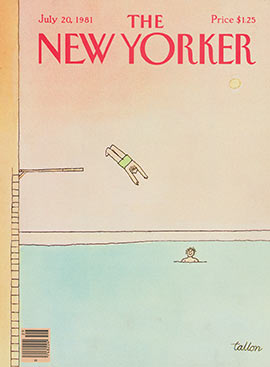 New Yorker Cover 1981